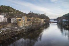 Μύλος εγγράφου Saugbrugs (παλαιό Ankers) Στοκ φωτογραφία με δικαίωμα ελεύθερης χρήσης