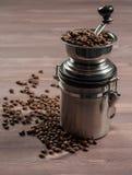 Μύλος και καφές Στοκ εικόνες με δικαίωμα ελεύθερης χρήσης