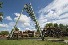 Μύλος ξυλείας Στοκ Εικόνα