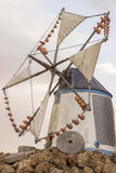 Μύλος χαρακτηριστικός του χωριού José Φράνκο Στοκ Εικόνα