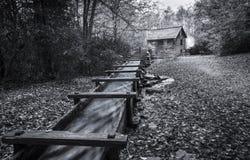 Μύλος Mingus στο καπνώές εθνικό πάρκο βουνών Στοκ Εικόνες