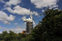 Μύλος Overy Staithe Burnham Στοκ εικόνα με δικαίωμα ελεύθερης χρήσης