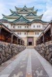 Νάγκουα Castle στην Ιαπωνία στοκ εικόνες με δικαίωμα ελεύθερης χρήσης