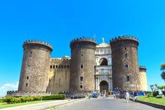 Νάπολη, Maschio Angioino Στοκ Εικόνα