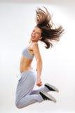 Νέα άσκηση γυναικών στοκ φωτογραφία με δικαίωμα ελεύθερης χρήσης