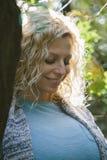 Νέα έγκυος γυναίκα Στοκ φωτογραφίες με δικαίωμα ελεύθερης χρήσης
