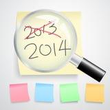 Νέα έννοια έτους Στοκ εικόνα με δικαίωμα ελεύθερης χρήσης