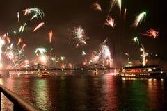νέα έτη παραμονής Στοκ Φωτογραφίες