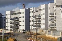 Νέα έτοιμη κατοικημένη γειτονιά - τελευταίο BEF βημάτων ανάπτυξης Στοκ Φωτογραφία