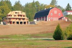 Νέα αγροτική κατοικημένη κατασκευή Στοκ Φωτογραφίες