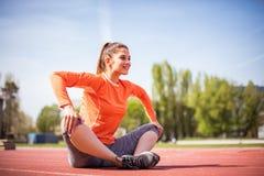 Νέα αθλήτρια ομορφιάς στοκ φωτογραφία με δικαίωμα ελεύθερης χρήσης