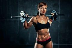 Νέα αθλήτρια Στοκ Εικόνες