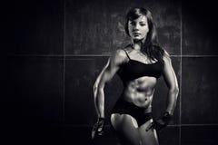 Νέα αθλήτρια Στοκ φωτογραφίες με δικαίωμα ελεύθερης χρήσης