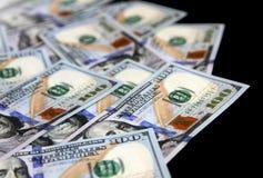 Νέα αμερικανικά δολάρια στοκ εικόνες
