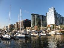 Νέα αποβάθρα στη νοτιοδυτική προκυμαία Στοκ εικόνα με δικαίωμα ελεύθερης χρήσης
