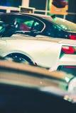 Νέα αυτοκίνητα πολυτέλειας για την πώληση Στοκ εικόνα με δικαίωμα ελεύθερης χρήσης