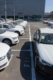 Νέα αυτοκίνητα audi Στοκ Εικόνα
