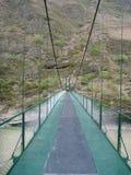 Νέα γέφυρα πέρα από το Ρίο apurimac στο Περού Στοκ εικόνες με δικαίωμα ελεύθερης χρήσης