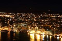 Νέα γη του ST John τη νύχτα Στοκ φωτογραφία με δικαίωμα ελεύθερης χρήσης