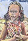Νέα γυναίκα ένα πορτρέτο στοκ εικόνα με δικαίωμα ελεύθερης χρήσης