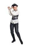 Νέα γυναίκα που φορά το κοστούμι πειρατών Στοκ Φωτογραφία