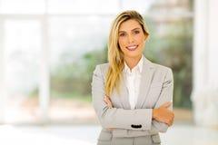 Νέα γυναίκα σταδιοδρομίας στοκ εικόνα