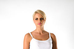 Νέα γυναίκα Στοκ φωτογραφία με δικαίωμα ελεύθερης χρήσης