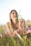 Νέα γυναίκα bikini Στοκ φωτογραφία με δικαίωμα ελεύθερης χρήσης