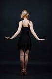 Νέα γυναικεία πλάτη Στοκ Εικόνα