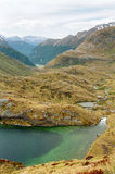 νέα διαδρομή Ζηλανδία routeburn στοκ φωτογραφία
