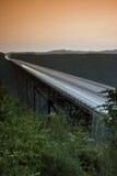 νέα δύση της Βιρτζίνια ποταμών φαραγγιών γεφυρών Στοκ εικόνες με δικαίωμα ελεύθερης χρήσης