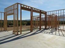 Νέα εγχώρια κατασκευή στην Αριζόνα στοκ εικόνες