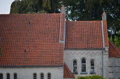Νέα εκκλησία Højerup Στοκ Φωτογραφίες