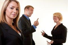 Νέα ελκυστικά businesspersons στοκ φωτογραφίες με δικαίωμα ελεύθερης χρήσης