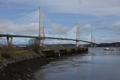 Νέα εμπρός οδική γέφυρα Στοκ φωτογραφίες με δικαίωμα ελεύθερης χρήσης