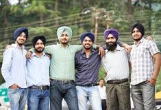 Νέα ενήλικα ινδικά σιχ άτομα στοκ εικόνα