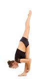Νέα επαγγελματική gymnast γυναίκα στοκ εικόνα με δικαίωμα ελεύθερης χρήσης