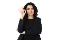 Νέα επιχειρηματίας Στοκ εικόνα με δικαίωμα ελεύθερης χρήσης
