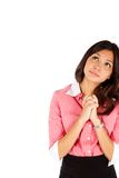 Νέα επιχειρησιακή γυναίκα. Στοκ Εικόνες