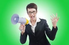 Νέα επιχειρησιακή κυρία Στοκ Εικόνες