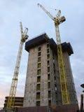Νέα ευρωπαϊκή έδρα για TJX Ευρώπη, TK Maxx, HomeSense κάτω από την κατασκευή στο δρόμο Clarendon, Watford στοκ φωτογραφία με δικαίωμα ελεύθερης χρήσης