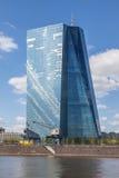Νέα Ευρωπαϊκή Κεντρική Τράπεζα (ΕΚΤ) στη Φρανκφούρτη στοκ φωτογραφία