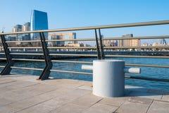 Νέα λεωφόρος στο Μπακού Στοκ Φωτογραφίες