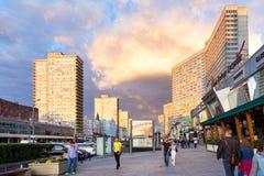 Νέα λεωφόρος Arbat Μόσχα Ρωσία Στοκ εικόνες με δικαίωμα ελεύθερης χρήσης