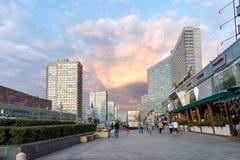 Νέα λεωφόρος Arbat Μόσχα Ρωσία Στοκ φωτογραφία με δικαίωμα ελεύθερης χρήσης