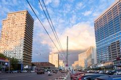 Νέα λεωφόρος Arbat Μόσχα Ρωσία Στοκ Εικόνα