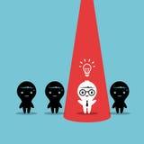 Νέα δημιουργική ιδέα Στοκ εικόνες με δικαίωμα ελεύθερης χρήσης