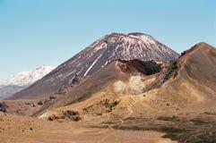 νέα ηφαίστεια Ζηλανδία tongariro Στοκ Εικόνες