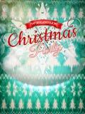 Νέα διακόσμηση Χριστουγέννων έτους 10 eps Στοκ φωτογραφίες με δικαίωμα ελεύθερης χρήσης