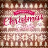 Νέα διακόσμηση Χριστουγέννων έτους 10 eps Στοκ Εικόνα